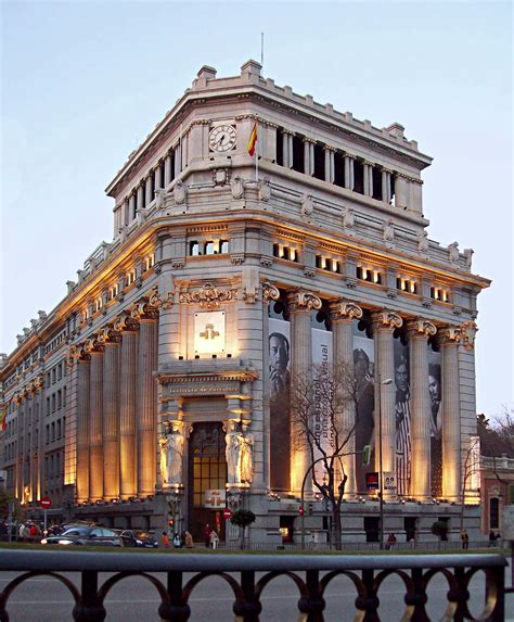 Instituto Cervantes | Madrid | Pinterest | Madrid ciudad ...