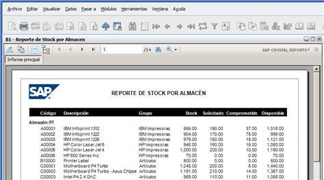 Integración de Crystal Reports con SAP Business One