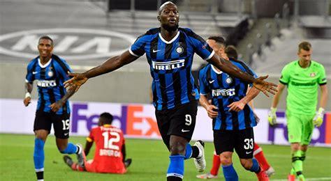Inter de Milan vs Bayer Leverkusen 2 1 estadísticas ...