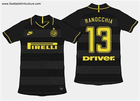 Inter Milan 2019 20 Third Kit Prediction | Kit design ...