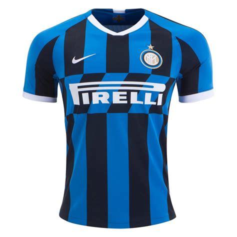 Inter Milan 2019 Soccer Home Jersey Men s Stadium Football ...
