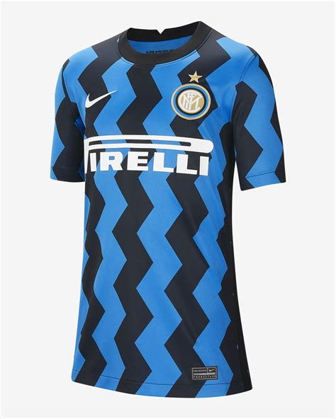 Inter Milan 2020/21 Stadium Home Big Kids  Soccer Jersey ...