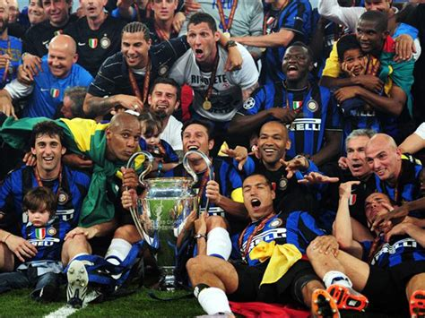Inter Milan Champions League 2010 Roster