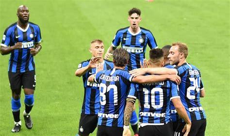 Inter Milan Crush Shakhtar Donetsk 5 0 to Enter Europa ...