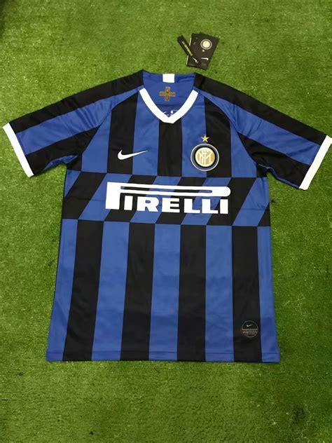 Inter Milan Home 2019 20 Soccer Shirt Jersey ...
