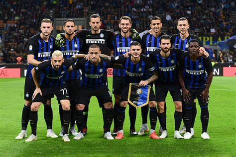 Inter Milan Team Squad