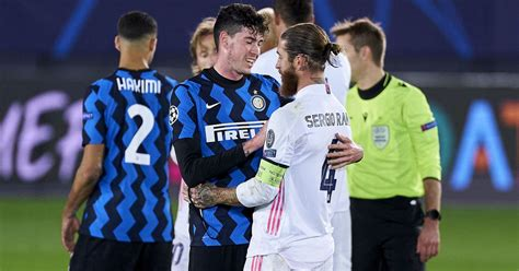 Inter Milan—Real Madrid Champions League 2020 21 Match ...