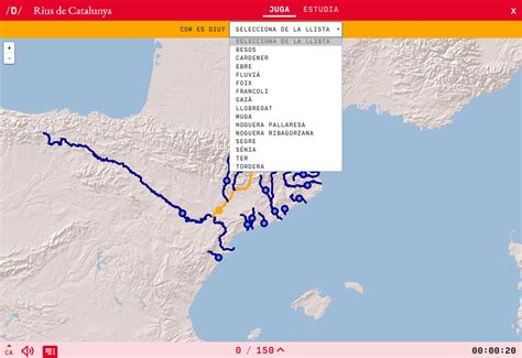 Interactive map. What s the name? Rivers of Catalonia ...