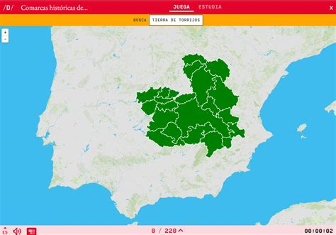 Interactive map. Where is it? Historical regions of ...