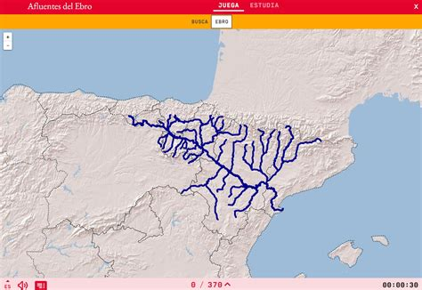 Interactive map. Where is it? Rivers tributaires of the ...
