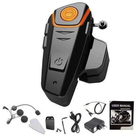 Intercomunicador Manos Libres Bluetooth Para Casco Moto ...