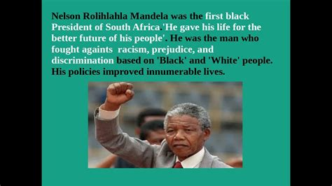 Interesting facts about Nelson Mandela   YouTube