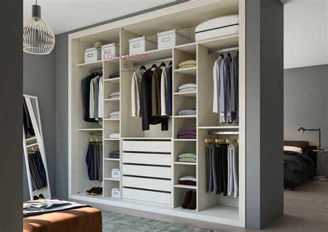 Interior armario empotrado para 3 puertas correderas ...