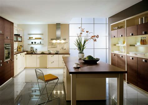 Interior Exterior Plan | Spacious Vanilla Kitchen Design