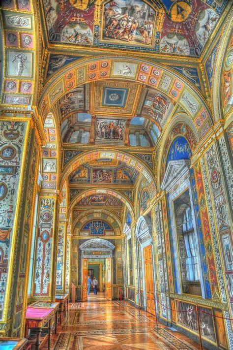 Interior Museo de L Hermitage, San Petersburgo. Rusia ...