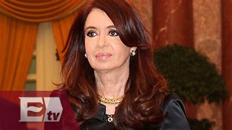 Internada presidenta de Argentina por cuadro febril ...