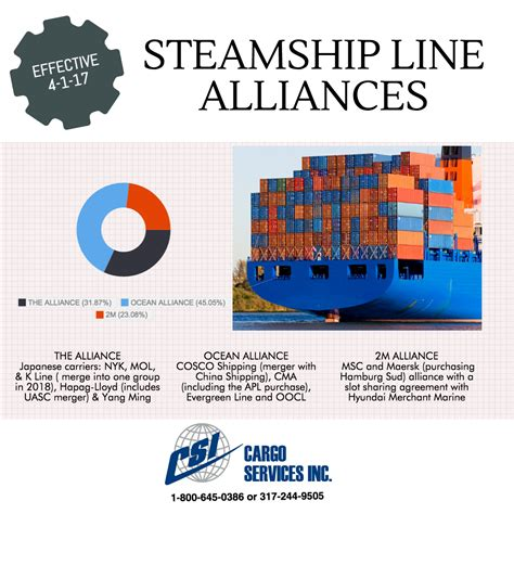 International freight forwarder guide to new steamship ...