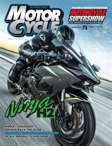 International Motorcycle Magazine by On Snow Magazine ...