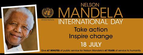 International Nelson Mandela Day July 18th 2016 | MICKFLIEG
