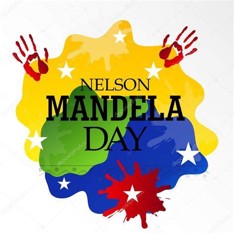 International Nelson Mandela Day — Stock Vector  SSDN ...