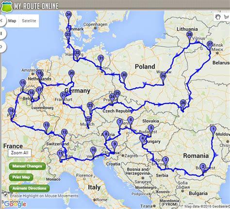 International Route Planner   Optimization & Maps ...