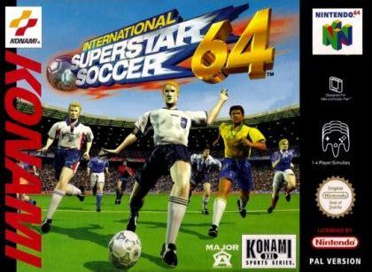 International Superstar Soccer 64 [Europe] Nintendo 64 ...