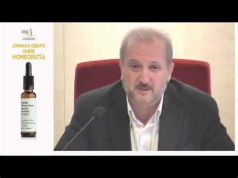 Intervención Vicente Baos Jornada sobre Homeopatía en OMC ...