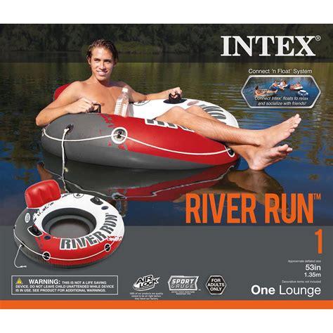 Intex River Run 1 53  Inflatable Floating Water Tube Lake ...