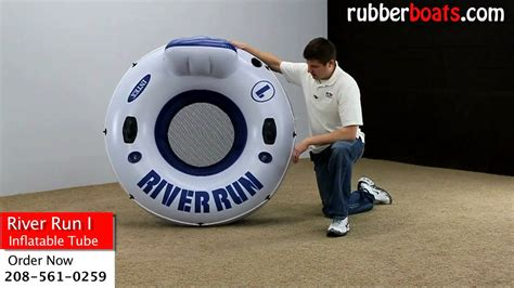 Intex River Run 1 Inflatable Float Tube Video Review   YouTube