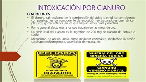INTOXICACION POR CIANURO PDF DOWNLOAD | via Micro Ondas ...