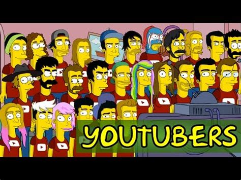 Intro Los Simpsons con YOUTUBERS   YouTube