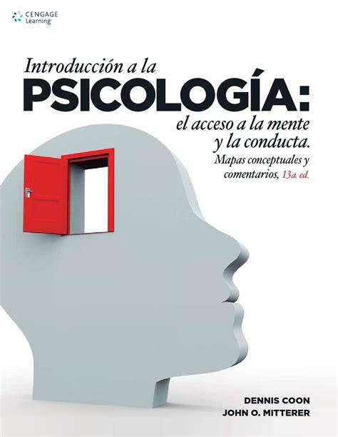 Introducción a la psicología: el acceso a la mente y la ...