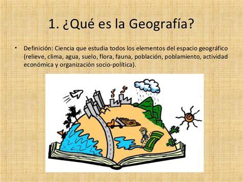 Introducción al conocimiento geográfico