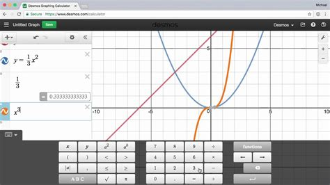 Introduction to the Desmos Graphing Calculator   YouTube