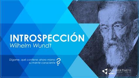 Introspección de Wund. Dioscoride Paulino