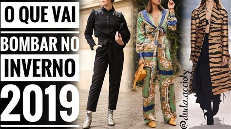 INVERNO 2019 TENDÊNCIAS de moda por Duda Accioly   YouTube