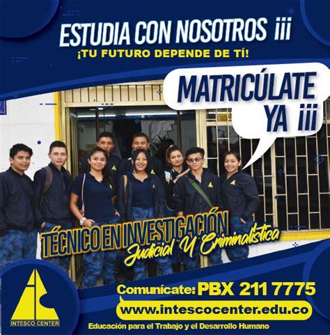 INVESTIGACIÓN JUDICIAL Y CRIMINALÍSTICA   Intesco Center