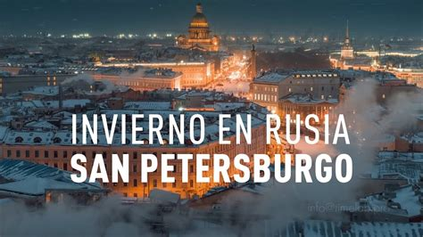 Invierno en Rusia San Petersburgo   YouTube