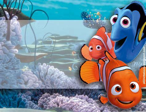 Invitación de Buscando a Nemo | Buscando a nemo, Tarjetas ...