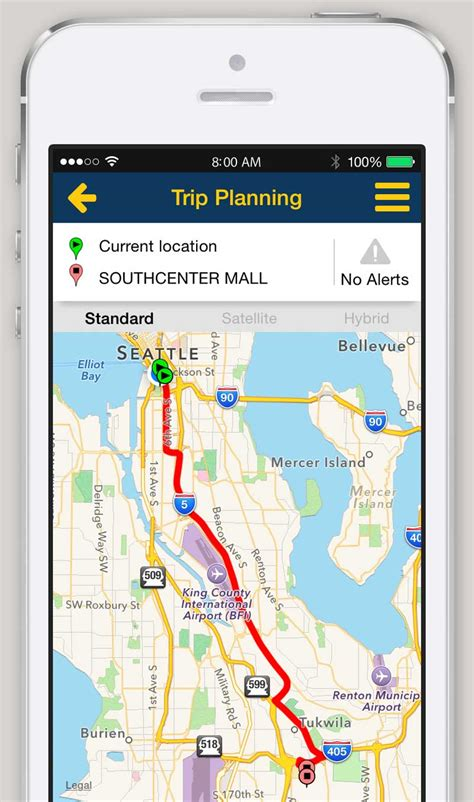 iPhone and Android App   Trip Planner   King County Metro ...