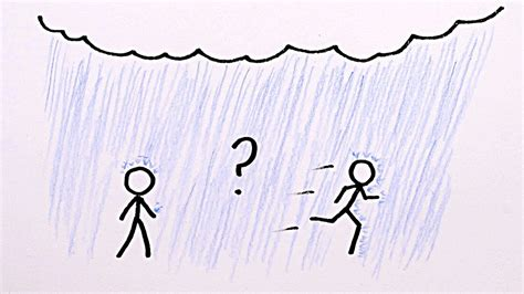 Is it Better to Walk or Run in the Rain?   YouTube