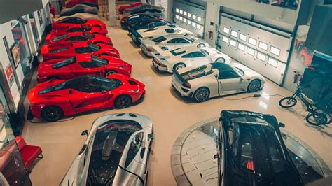 Is this the greatest supercar collection in the world ...