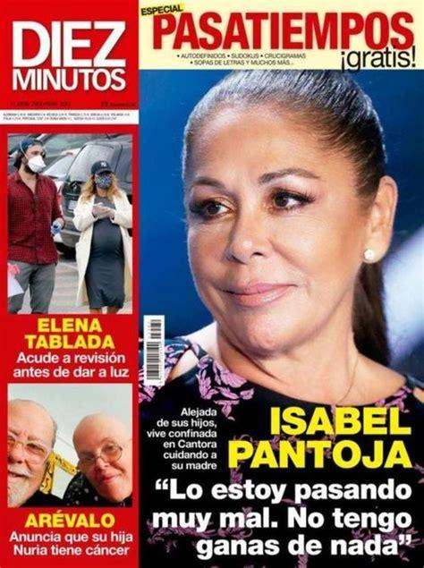 Isabel Pantoja en Diez Minutos:  Lo estoy pasando muy mal ...