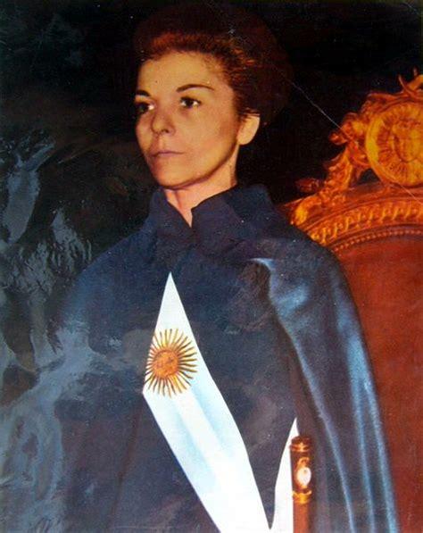Isabel Perón – prva predsjednica države u povijesti – 1931 ...
