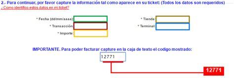 iShop   Facturación en Línea > Facturar Tickets > XML y PDF