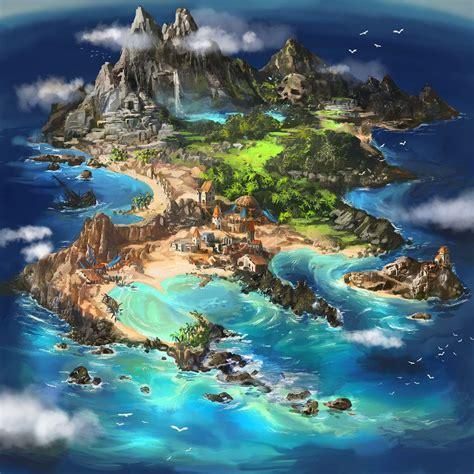 Island map by Tsabo6.deviantart.com on @DeviantArt ...
