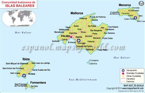 Islas De España Mapa | Mapa