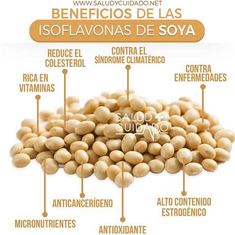 Isoflavonas de soya: Qué es, Beneficios, Propiedades y Riesgos