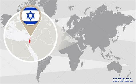 Israel Mapa Mundi   Mapa