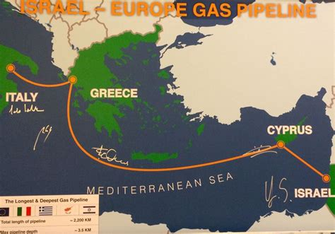 Israel Natural Gas Lines could help build European ...